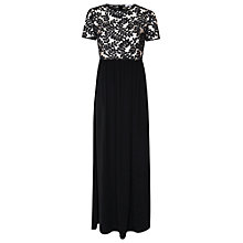 Buy True Decadence Embellished Maxi Dress, Black Online at johnlewis.com