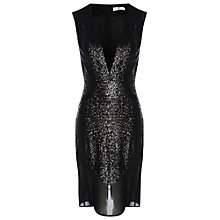 Buy True Decadence Sequin Dress, Black Online at johnlewis.com