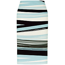 Buy Fenn Wright Manson Madrid Stripe Skirt, Blue Online at johnlewis.com