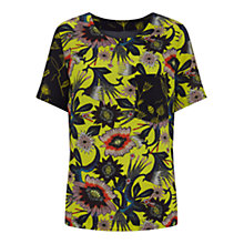 Buy Finery Fullerton Floral T-Shirt, Multi Online at johnlewis.com