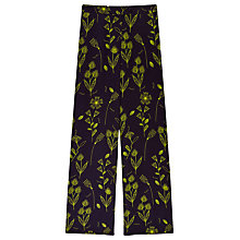 Buy Finery Belgrade Wide Leg Squiggle Print Trousers, Multi Online at johnlewis.com