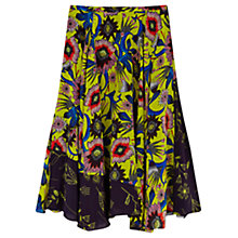 Buy Finery Frensham Floral Printed Midi Skirt, Multi Online at johnlewis.com