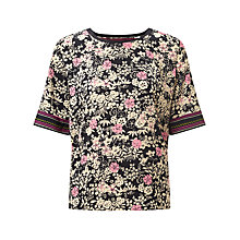 Buy Maison Scotch Sporty Printed Top, Multi Online at johnlewis.com