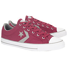 Buy Converse Star Player Ox Trainers, Red Online at johnlewis.com