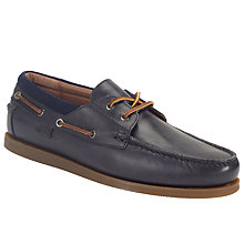 Buy Ralph Lauren Dayne Leather Boat Shoes Online at johnlewis.com