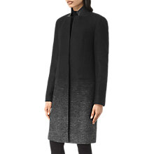 Buy AllSaints Jaiya Coat, Black/Grey Online at johnlewis.com