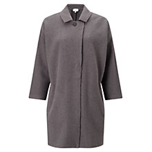 Buy East Boiled Wool Coat, Flint Online at johnlewis.com