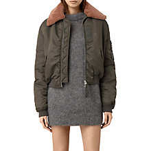 Buy AllSaints Luca Bomber Jacket Online at johnlewis.com