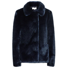Buy Reiss Alexia Faux Fur Coat Online at johnlewis.com