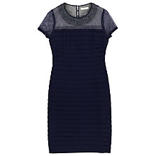 Buy Precis Petite Janice Beaded Mesh Jersey Bandage Dress Online at johnlewis.com
