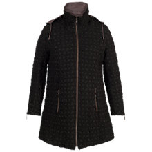 Buy Chesca Hooded Mini Bonfire Quilted Coat Online at johnlewis.com