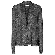 Buy Reiss Claudine Knitted Cardigan, Metallic Online at johnlewis.com