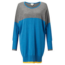 Buy East Merino Round Neck Tunic, Multi Online at johnlewis.com