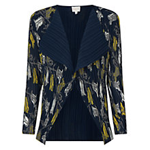 Buy East Tulip Pleat Cover Up, Sapphire Online at johnlewis.com