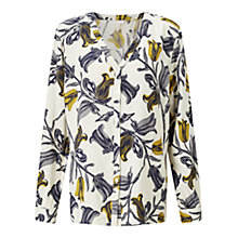 Buy East Tulip Print Shirt, Ochre Online at johnlewis.com