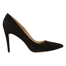 Buy Mint Velvet Emma Stiletto Court Shoes, Black Online at johnlewis.com