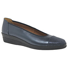 Buy Gabor Petunia Wide Fit Wedge Heeled Ballet Pumps Online at johnlewis.com