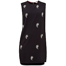 Buy Ted Baker Mareey Embellished Tunic Dress, Black Online at johnlewis.com