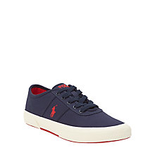 Buy Polo Ralph Lauren Tyrian Trainers, Navy Online at johnlewis.com