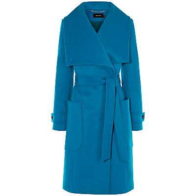 Karen Millen Belted Coat, Blue