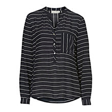 Buy Betty & Co. Striped Blouse, Dark Blue/White Online at johnlewis.com