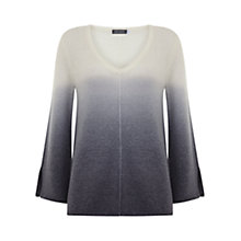 Buy Mint Velvet Ombre V-Neck Jumper, Multi Online at johnlewis.com