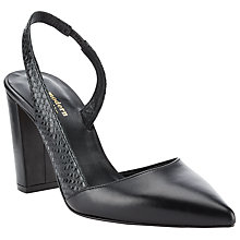 Buy Modern Rarity Mora Slingback Asymmetric Court Shoes Online at johnlewis.com