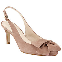 Buy John Lewis Cait Bow Slingback Court Shoes Online at johnlewis.com