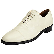 Buy Modern Rarity F Mindora Lace Up Brogues, Cream Online at johnlewis.com