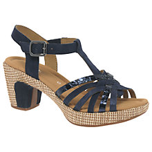 Buy Gabor Cheri Wide Block Heeled Sandals Online at johnlewis.com