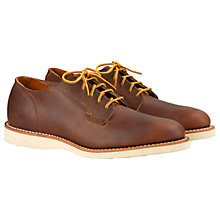 Buy Red Wing Oxford Shoes, Copper Rough and Tough Online at johnlewis.com