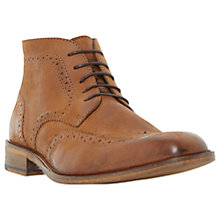 Buy Bertie Canister Brogue Boots, Tan Online at johnlewis.com