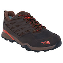Buy The North Face Hedgehog GTX Men's Waterproof Hiking Boots, Black/Brown Online at johnlewis.com