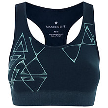 Buy Manuka Balance Bra Top, Purple/ Blue Online at johnlewis.com