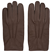 Buy Reiss Glenworth Tumbled Leather Gloves Online at johnlewis.com