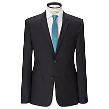 Buy Calvin Klein Tate Micro Two Tone Weave Tailored Suit Jacket, Black/Grey Online at johnlewis.com