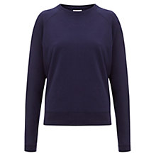 Buy Finery Bidder Forever Zip Detail Sweatshirt, Navy Online at johnlewis.com
