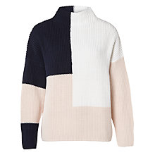 Buy Selected Femme Karesa Colour Block Jumper, Multi Online at johnlewis.com