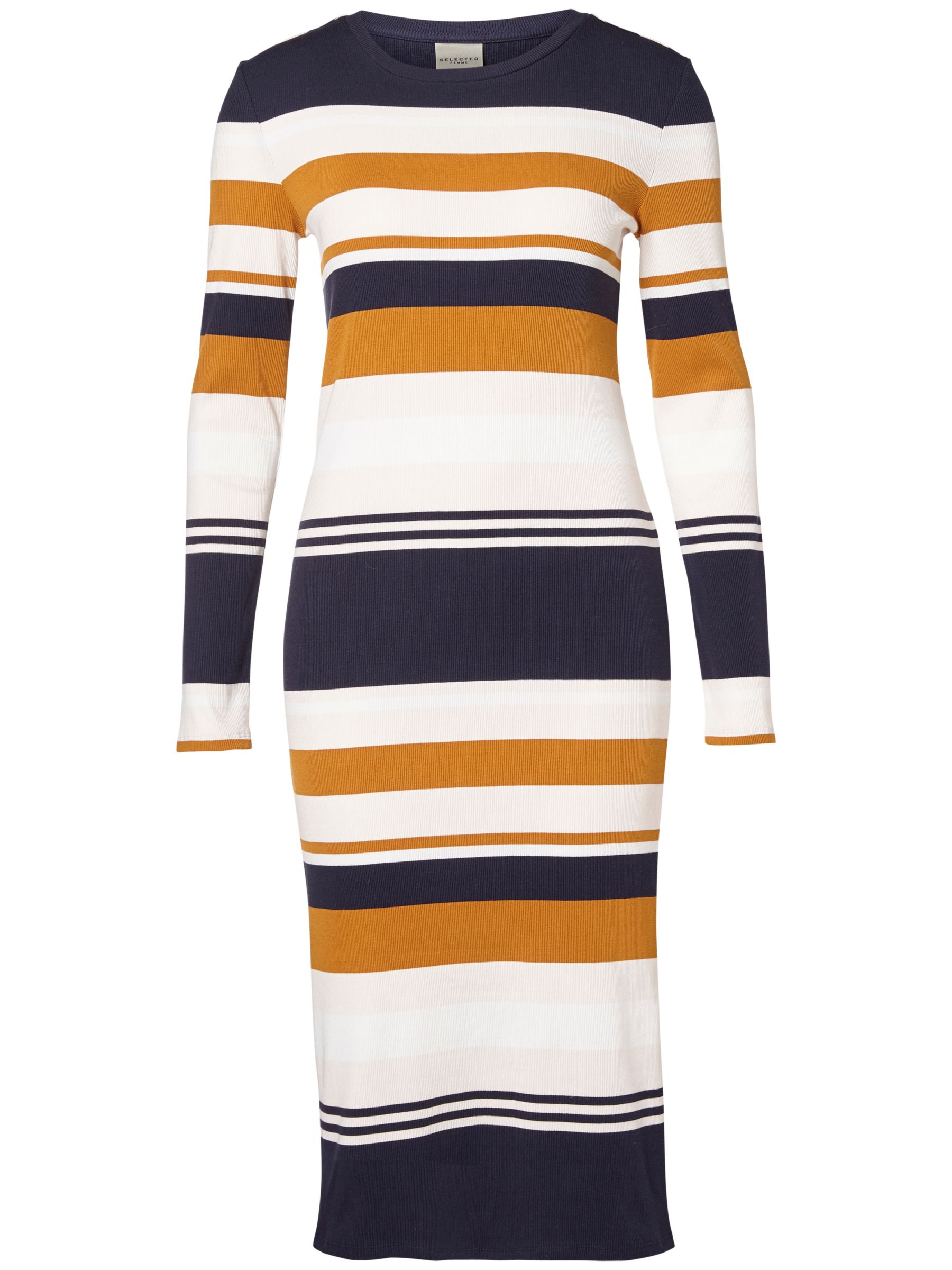Selected Femme Selected Femme Damia Stripe Dress, Multi