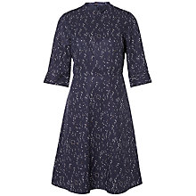 Buy Selected Femme Gaila Printed Dress, Dark Sapphire Online at johnlewis.com