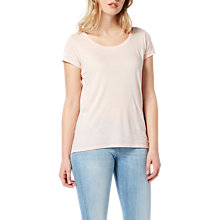 Buy Lee Ultimate T-Shirt, Pale Pink Online at johnlewis.com