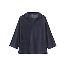 Buy Toast Denim Tunic, Indigo Online at johnlewis.com