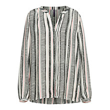 Buy NYDJ San Germaine Stripe Print Blouse, Multi Online at johnlewis.com