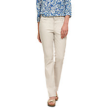 Buy NYDJ Marilyn Straight Leg Jeans, Clay Online at johnlewis.com