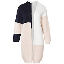 Buy Selected Femme Karesa Colour Block Cardigan, Multi Online at johnlewis.com