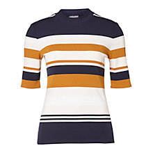 Buy Selected Femme Damia Stripe Jumper, Multi Online at johnlewis.com
