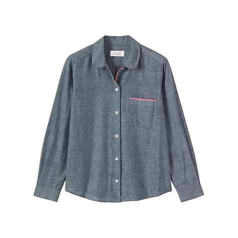 Buy Toast Cotton Khadi Shirt, Chambray | John Lewis