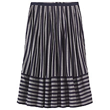Buy Toast Wide Stripe Cotton Skirt Online at johnlewis.com