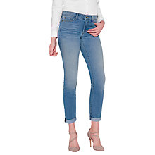 Buy NYDJ Alex Roll Cuff Ankle Jeans, Pampelonne Online at johnlewis.com