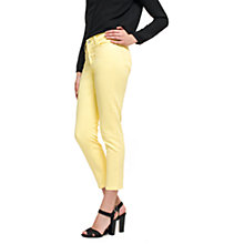 Buy NYDJ Alex Roll Cuff Ankle Jeans, Lemon Ice Online at johnlewis.com